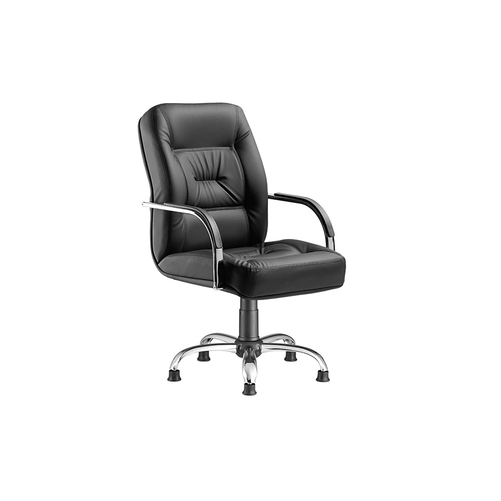 PRESTIGE – Guest Office Chair – Star Leg – Chromage – Office Chairs, Office Chair Manufacturer, Office Furniture