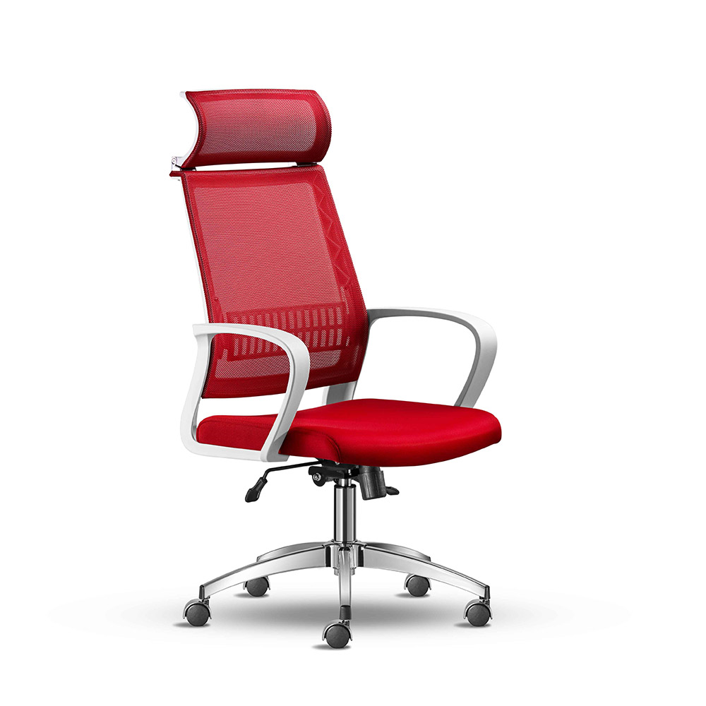 Awesome Aris White Executive Office Chair Awax Furniture The Home Interior And Landscaping Synyenasavecom