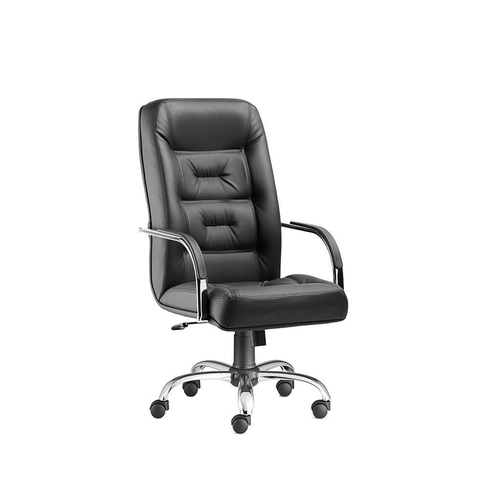 PRESTIGE – Executive Office Chair – Chromage – Office Chairs, Office Chair Manufacturer, Office Furniture